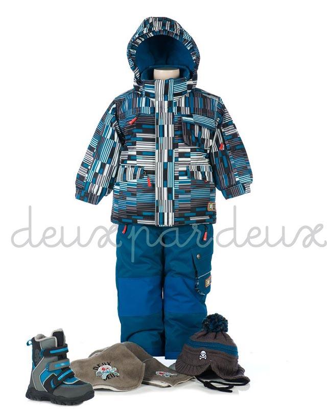 Зимний костюм для мальчика 9