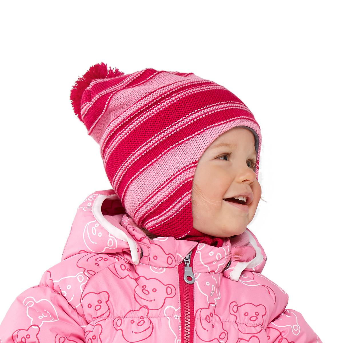 Лучшие фотографии со всего интернета. Шапка для малышей полосатая арт 718631 3390