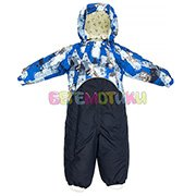 цвет: 70186-blue dragon pattern/ navy, доступны размеры: 74, 80, 86, 92