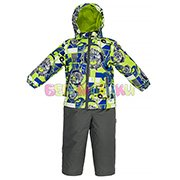 цвет: 73147-lime kratt pattern/ gray, доступны размеры: 86, 92, 98, 104, 110, 116, 122